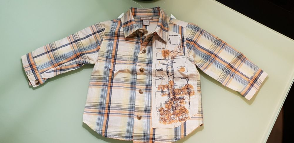 Camisa bébé ORCHESTRA 9 meses