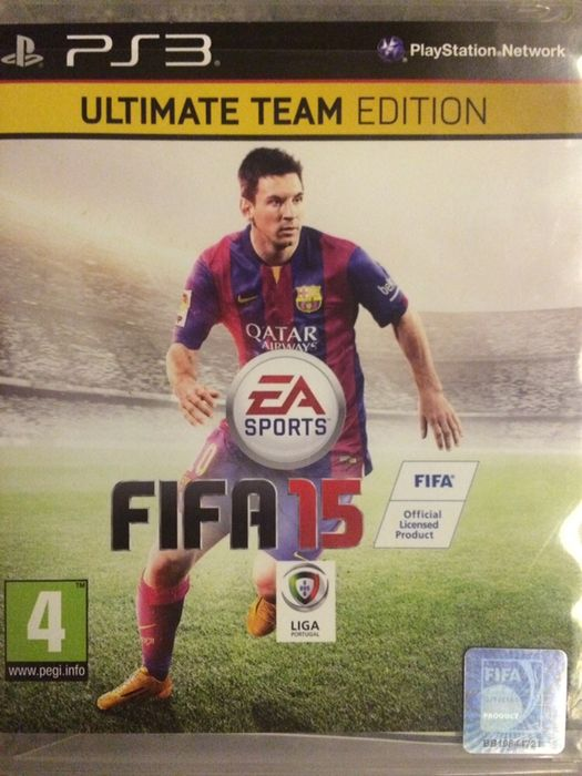 PS3 FIFA 15 Ultimate Team Edition