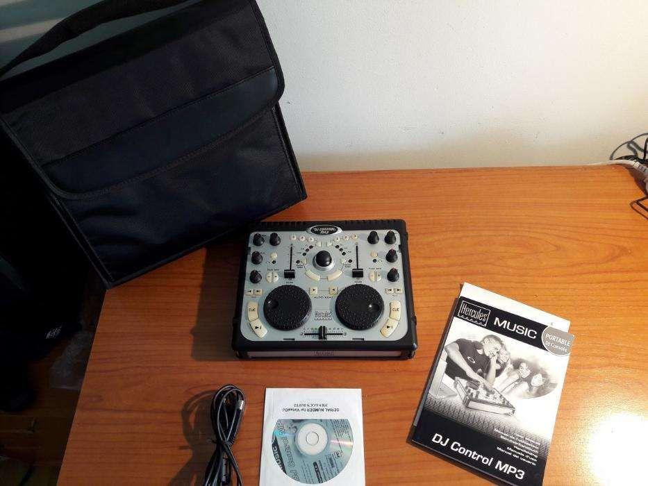 Hercules DJ Control MP3 + Mala de transporte