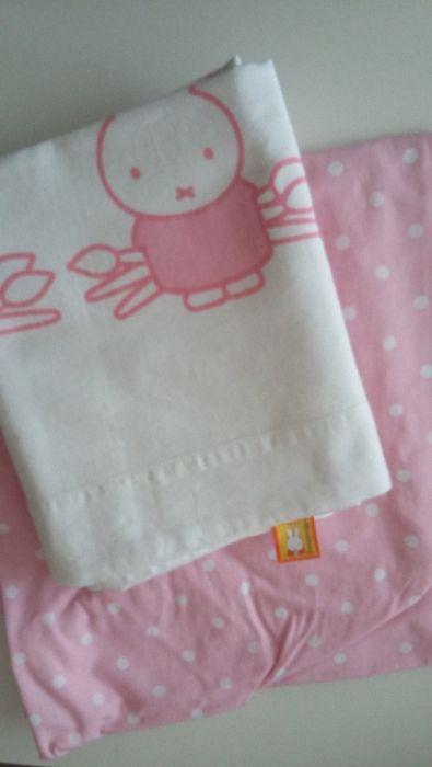 Lencois cama de grades - menina