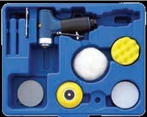 Kit mini lixadora/polidora disco 75mm