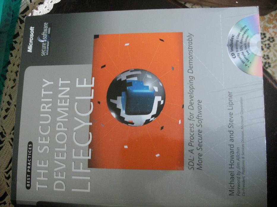 The security development lifecycle Michael HoWARD e Steve LIPNER