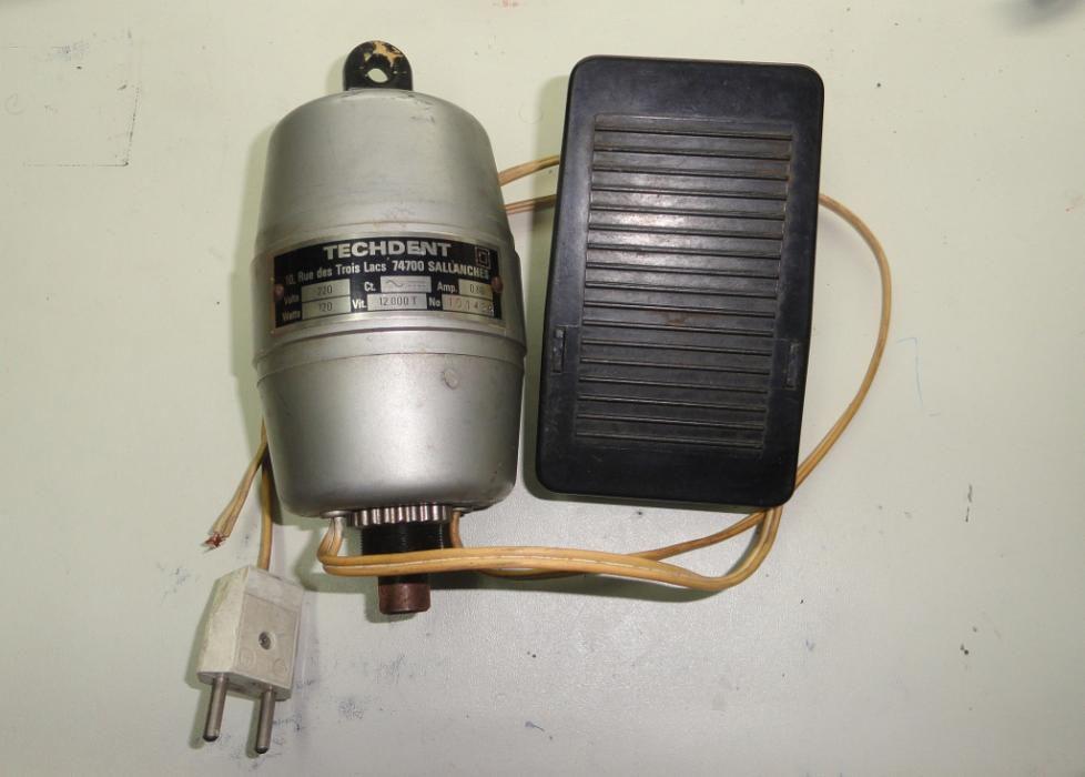 Motor rotativo ourives ourivesaria techdent 12.000 rpm