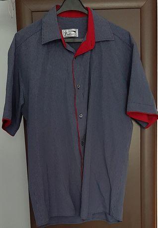 Koszule męskie Fabian Loventi rozmiar L zamiana za 8 żóbrów