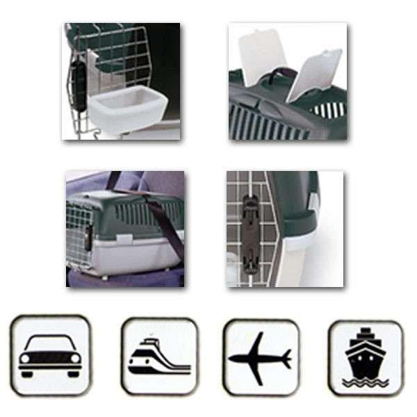Transportadora Oficial IATA, para cão e gato (avião, barco, carro) Alfragide - imagem 4