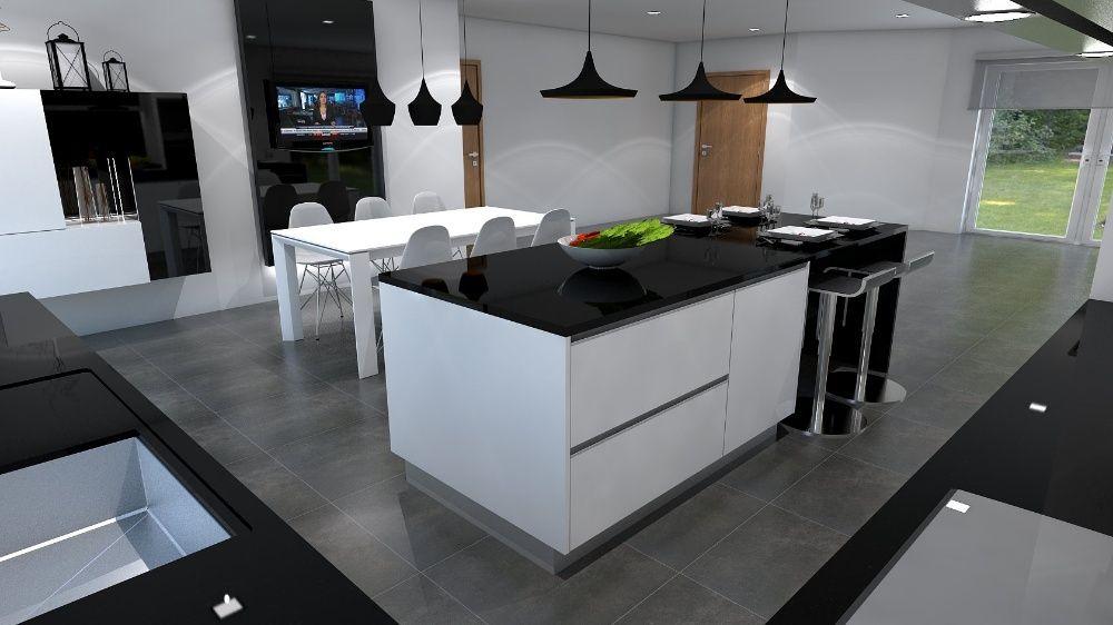 Cozinhas Modernas E Novas
