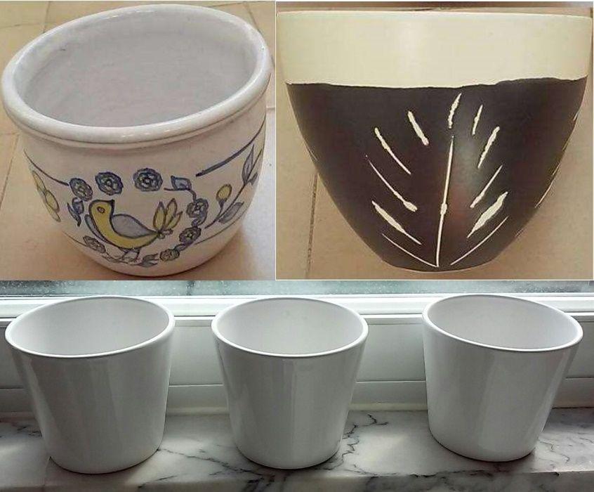 Cache-pots vasos vários modelos cores promoção para desocupar