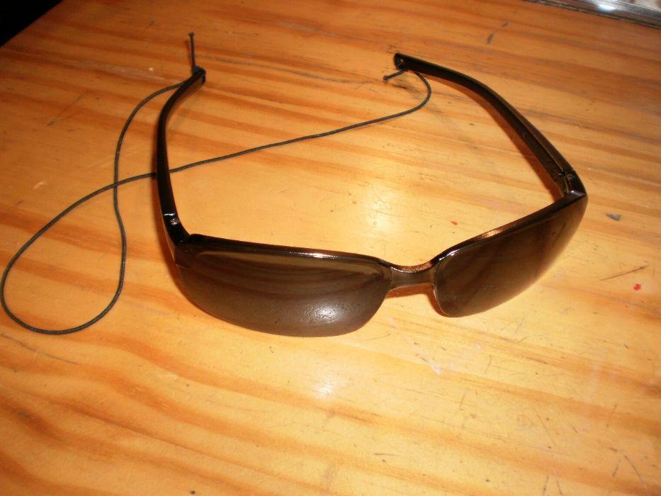 Óculos de sol, pretos, casual/desporto, novos.