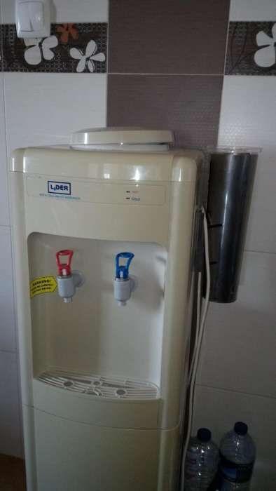 Fonte de agua quente e fria