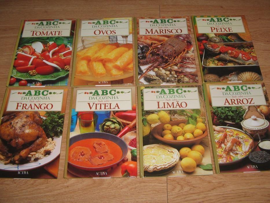 """Livros de culinária """"ABC da Cozinha"""" 15 todos diferentes"""