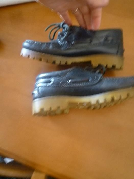 Sapatos em pele nº 34 Fabricado em Portugal Campolide - imagem 3
