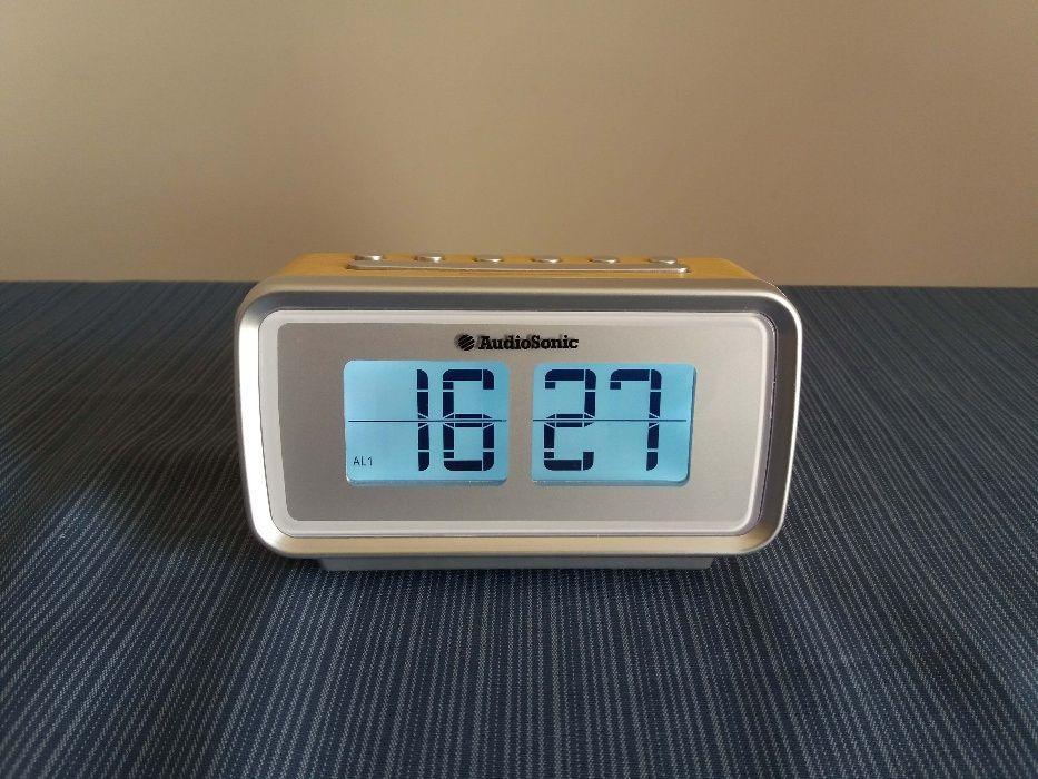 Rádio Relógio AudioSonic
