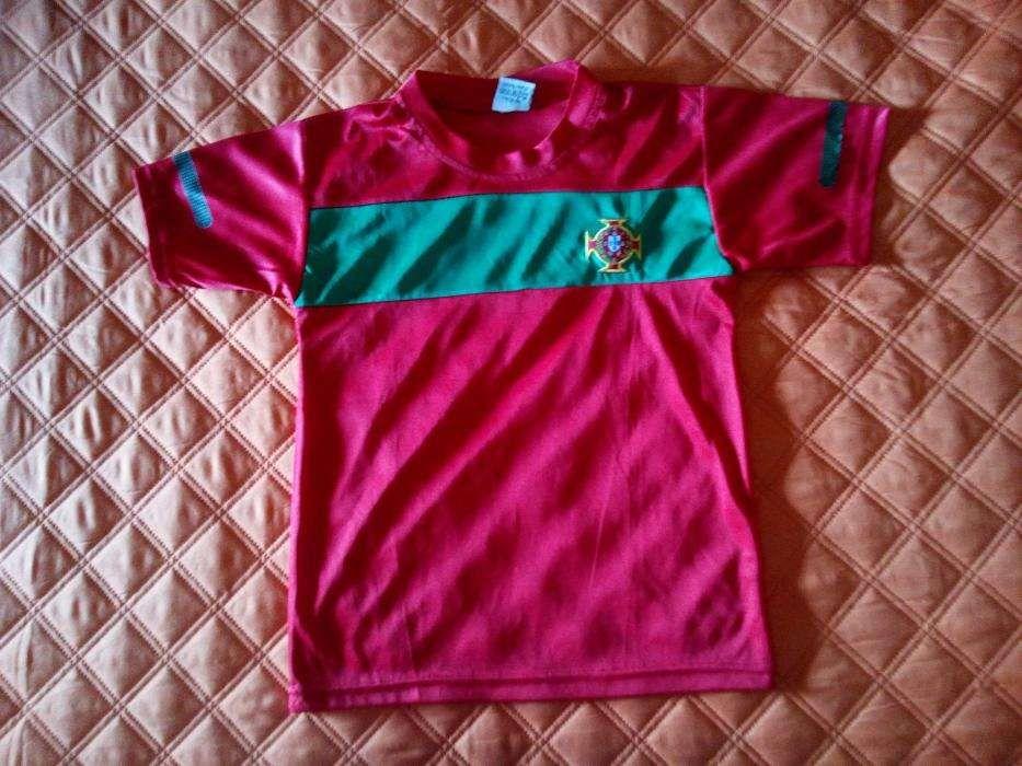 Camisola Seleção Portuguesa (10 Anos) - Parque das Nações - Não retorno  chamadas e 45250c4266c98
