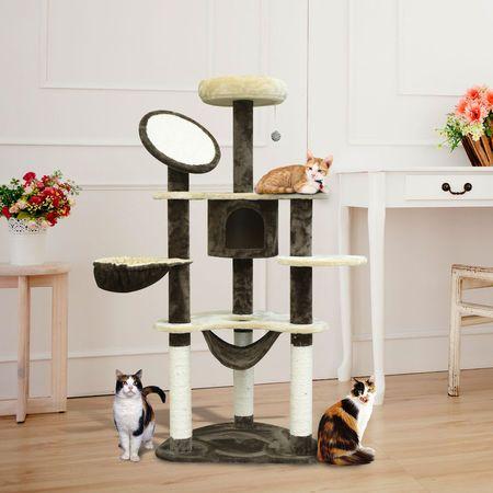(NOVO) -Arranhador Gato Altura 153 x 65 x 50 cm Envio Grátis