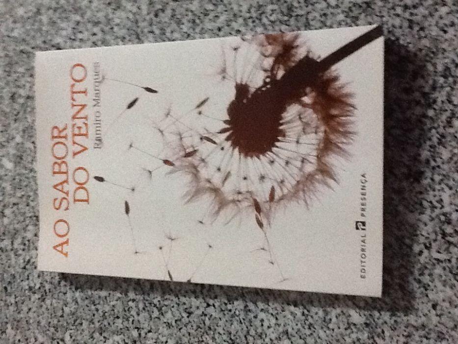 """Livro """"Ao sabor do vento"""" de Ramiro Marques"""