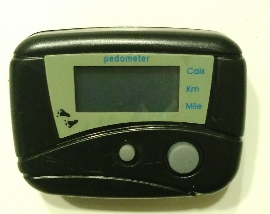 Pedómetro cor preto