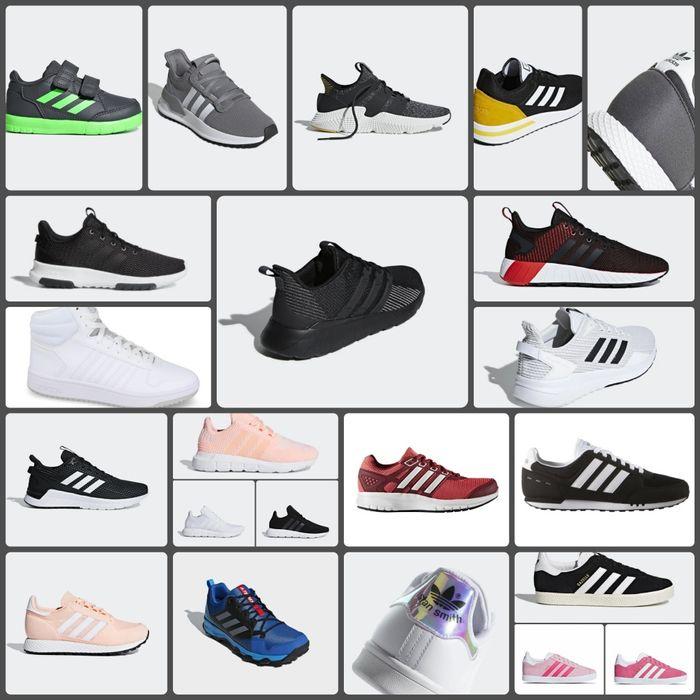 Adidas damskie, męskie i dziecięce obuwie różne modele