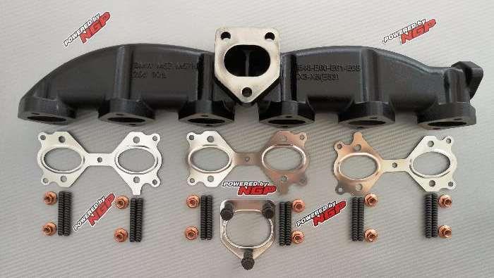 Colector coletor de escape FERRO BMW E46 E60 E61 E65 X3 X5 525d 530d
