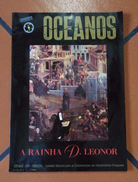"""Revista Oceanos """"A Rainha D. Leonor"""" - Novo"""
