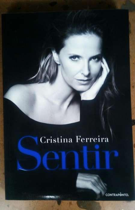 """Livro """"Sentir"""" Cristina Ferreira"""