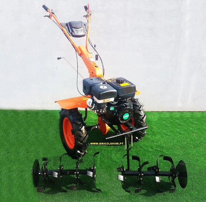 Moto-enxada Transmissão Directa Nova - Motor 10 cv + Rodas +Abre Regos