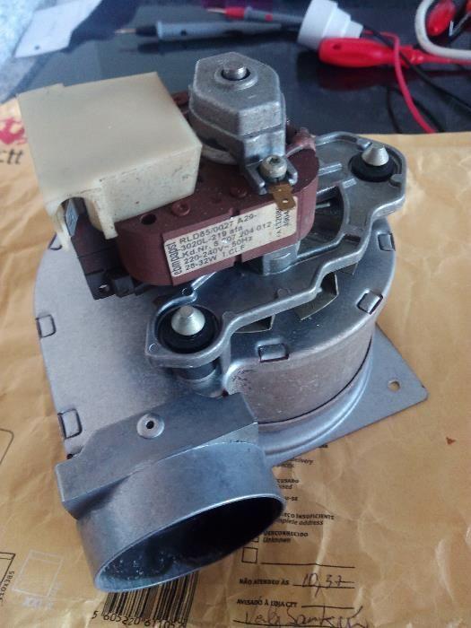 Ventilador e Modulo de Ignicao para esquentador Junkers Ventilado