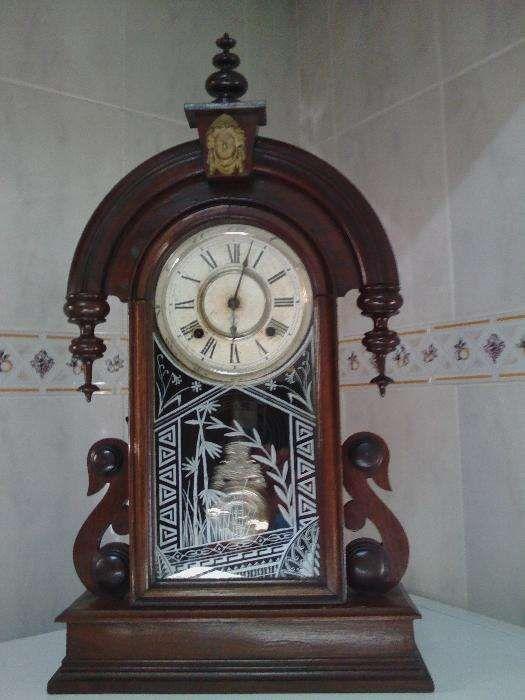 Relógio Americano Do Ano 1850 Impecável