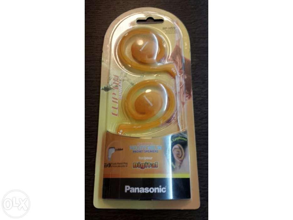 Earphones Clip-On Spirals Panasonic Novo