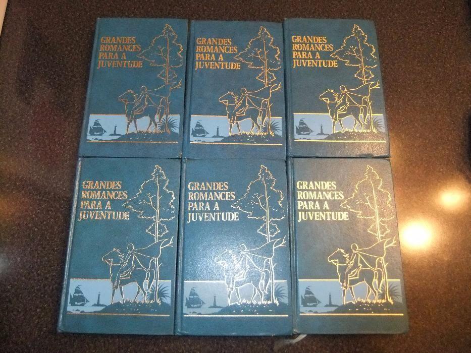 Coleção de 6 livros - Grandes Romances para a Juventude