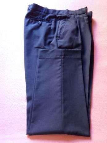 Calças clássicas azuis, nr. 50