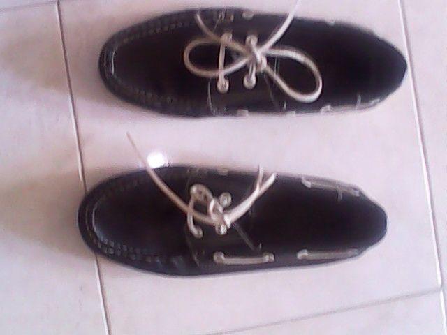 Sapatos Vela em pele