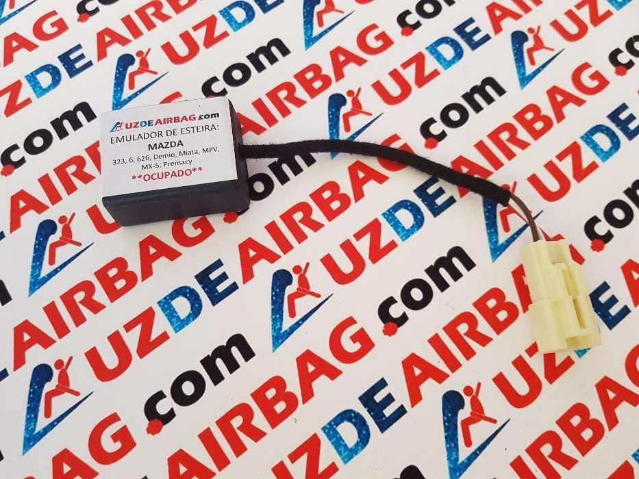 Simulador para apagar Luz de Airbag - MAZDA - Só encaixar Ocupado
