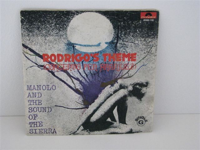 Vinil single Manolo and the sound of the sierra - Rodrigo's