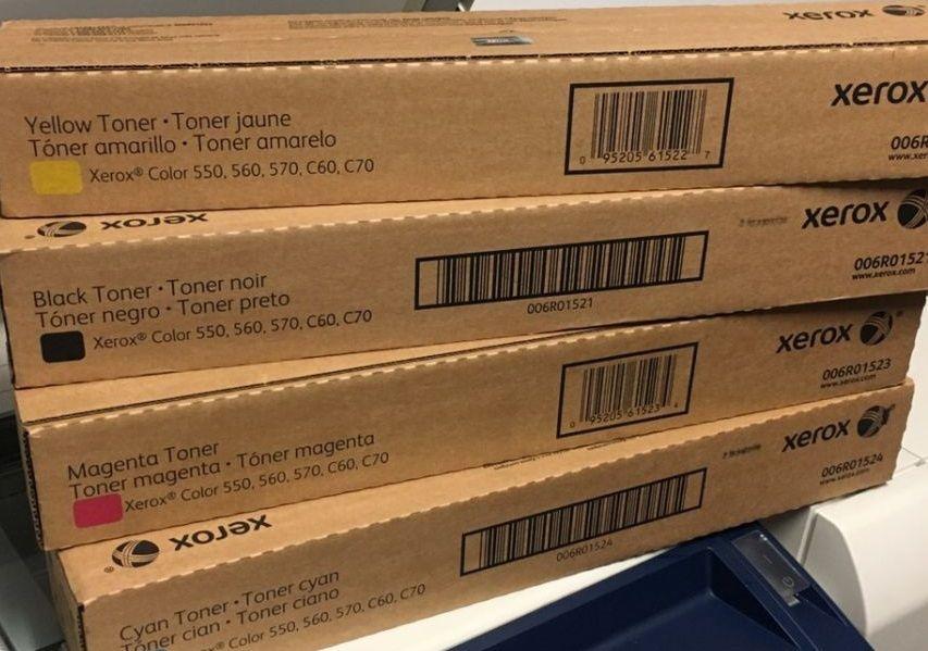 Toner Xerox sem Contrato 550 e 560 e 570 e C60 e C 70