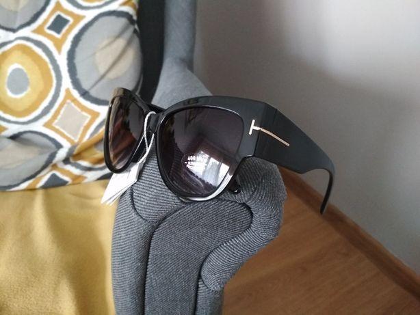 Damskie okulary przeciwsłoneczne Tom Ford ochrona UV polecam