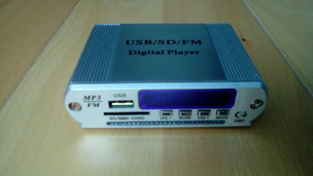 Leitor MP3 com radio p/ amplificador p/ aparelhagens