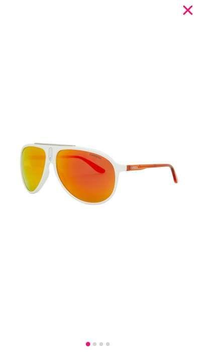 Óculos de sol CARRERA branco e laranja 7b79cfb69a