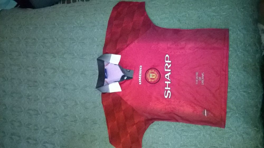 camisola oficial manchester united