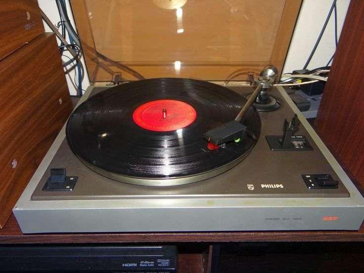Philips 437 Gira discos.