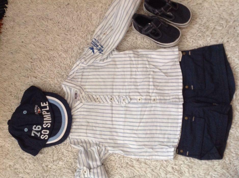 Arquivo: Conjunto túnica e casaco 18 meses Benfica • OLX