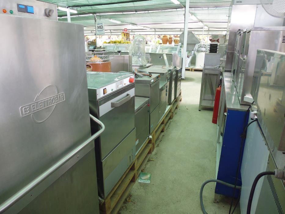 Maquinas de lavar loiça e de Gelo