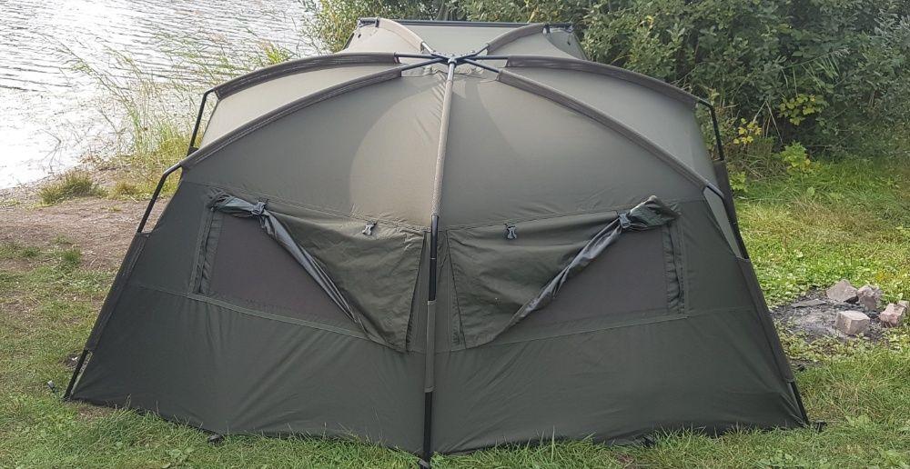 namiot karpiowy z narzuta okazje