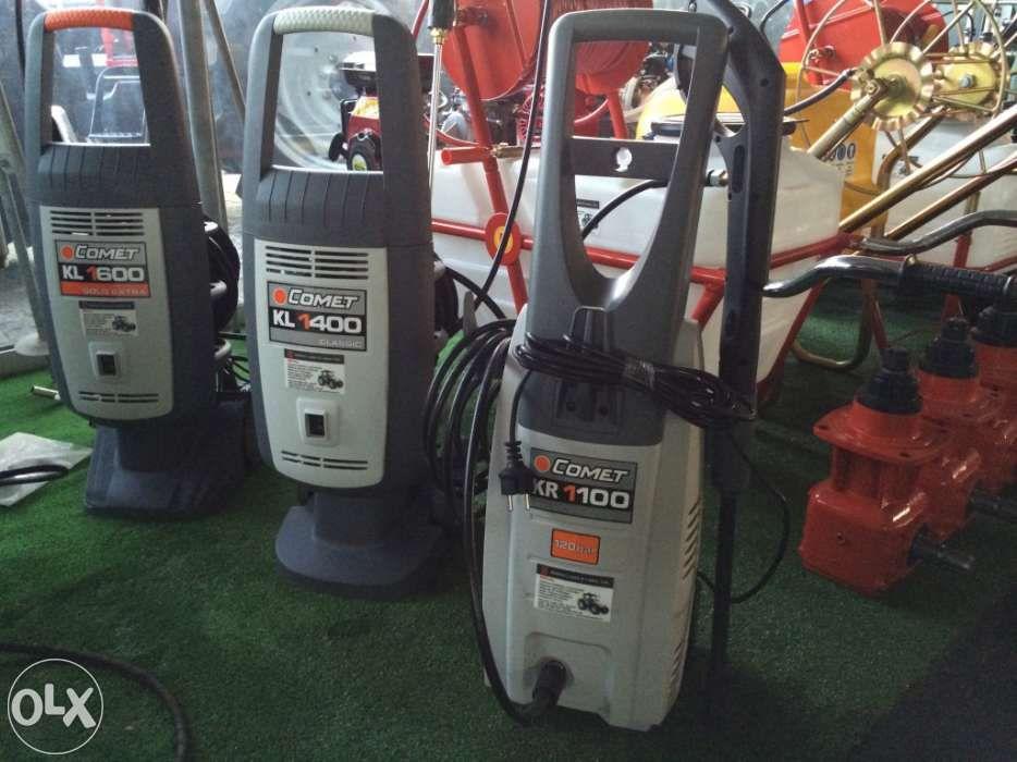 Lavadora de pressão COMET de 120-150 bar