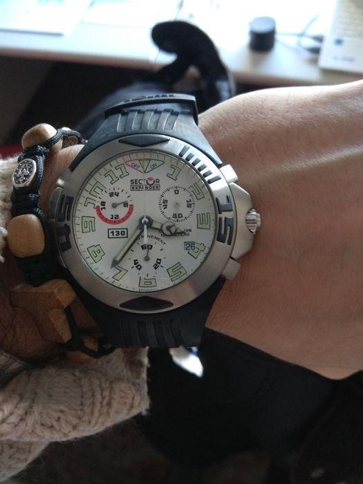 05e6a58bbc8 Relógio Sector Expander 130 Chrono - Alarm