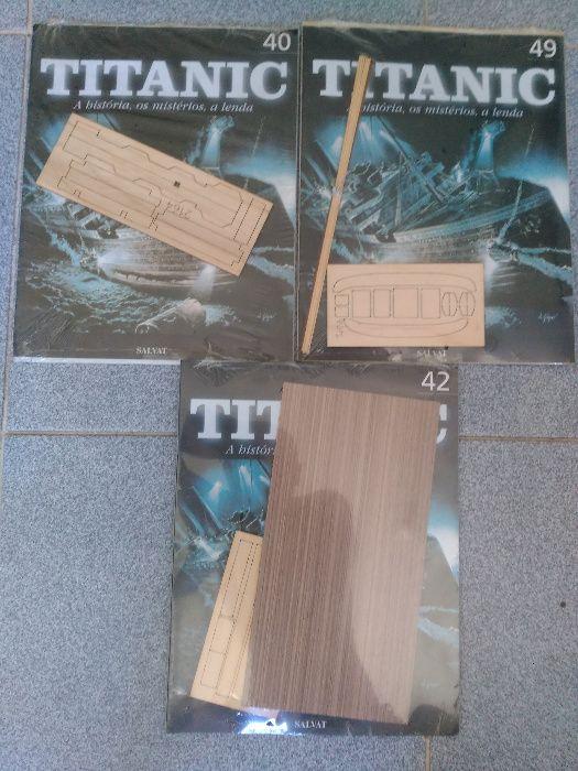 KIT em Madeira de Bétula - TITANIC - Colecção Completa - Faça Oferta