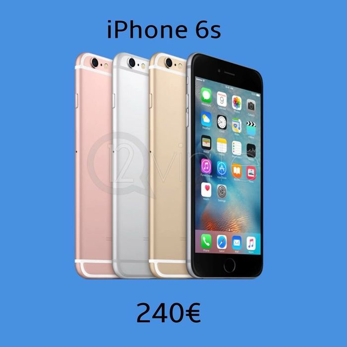 Iphone 6s 16GB desbloqueado