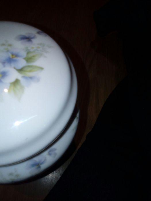 Pote de louça com tampa Sapataria - imagem 2