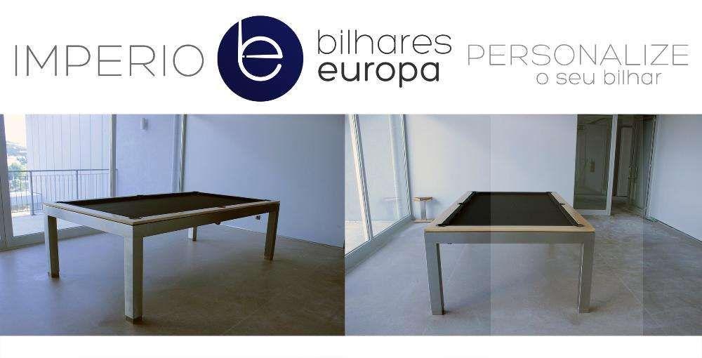 Bilhar modelo Império Inox Escovado Bilhares Europa Pme Lider 16