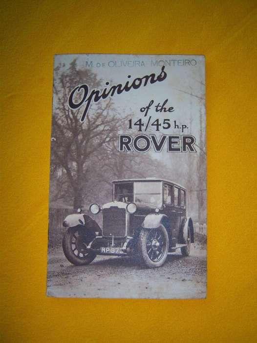 Livro sobre o carro Rover