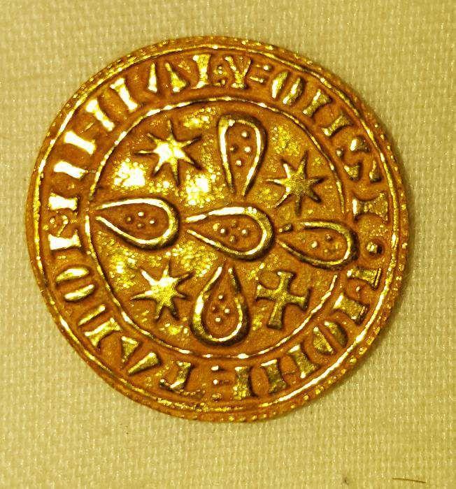Morabitino de Ouro - Moeda antiga Oeiras E São Julião Da Barra, Paço De Arcos E Caxias - imagem 2